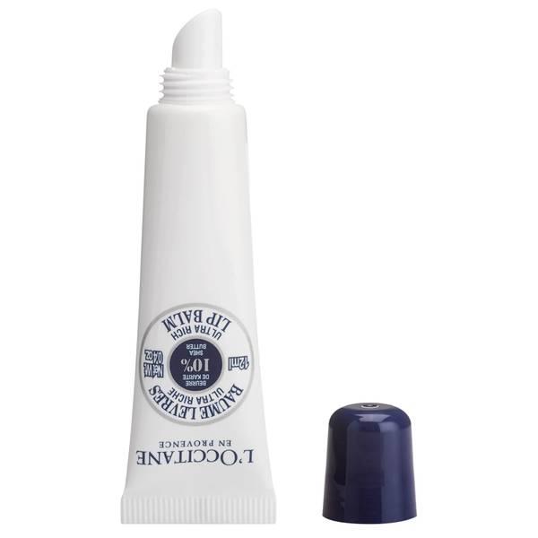 L'Occitane Shea Moisturizing Organic Lip Balm (12ml)