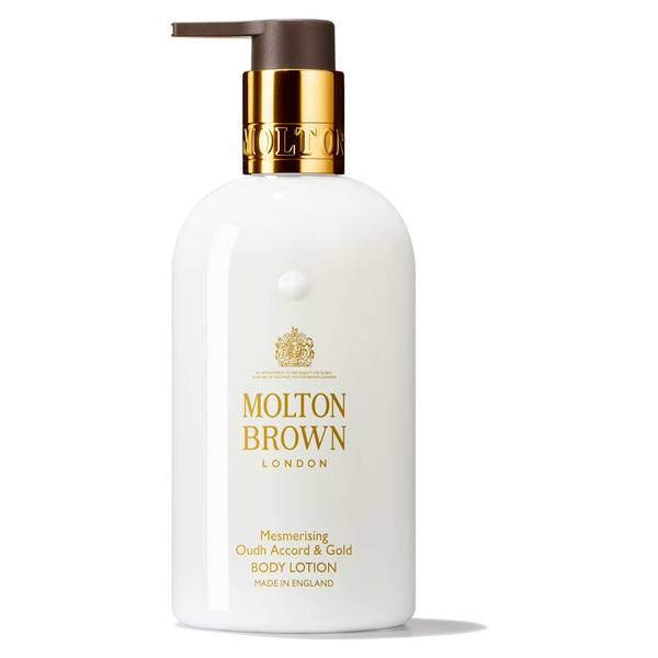 Molton Brown Oudh Accord and Gold Body Lotion (300ml)