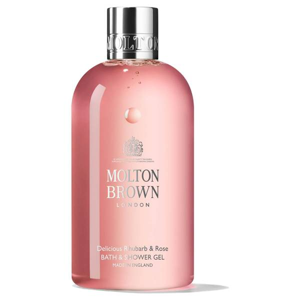 Molton Brown Delicious Rhubarb and Rose Bath and Shower Gel (300ml)