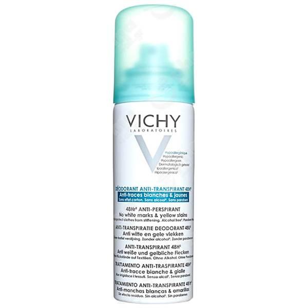 Vichy Deodorant 48H Aerosol anti-marcas anti-transpirante 125ml