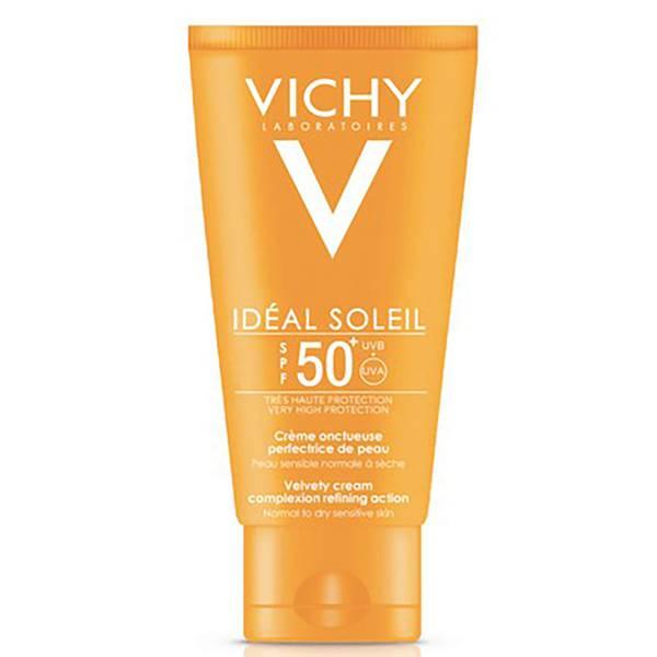 Vichy Idéal Soleil Velvety Cream -aurinkosuojavoide, SPF 50+, 50ml