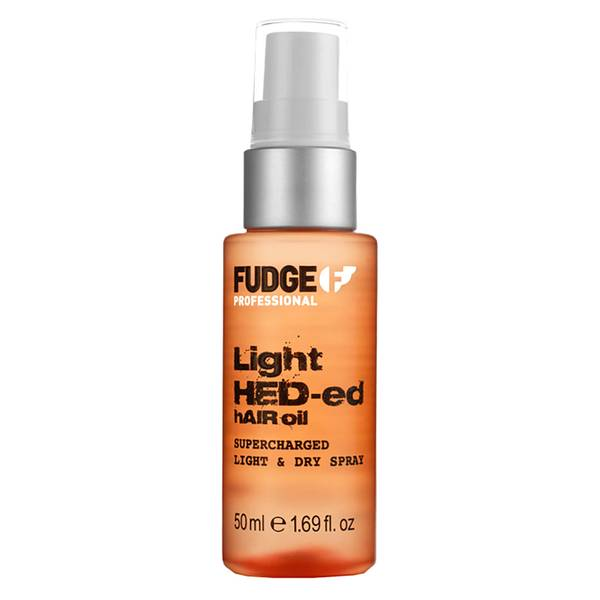 Fudge Light Hed-Ed Oil Supercharged Light and Dry Spray (50ml)