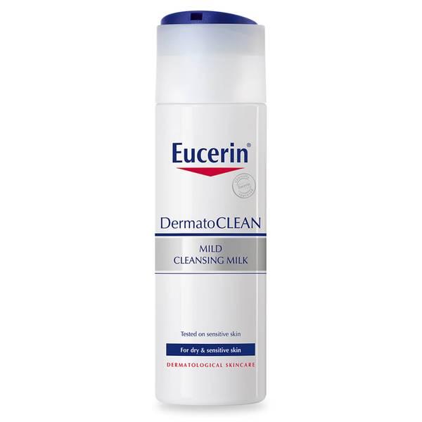 Eucerin® DermatoCLEAN Mild Cleansing Milk -puhdistusmaito (200ml)