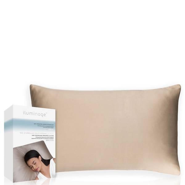 ILUMINAGE肌若返するゴマと酸化銅枕カバ