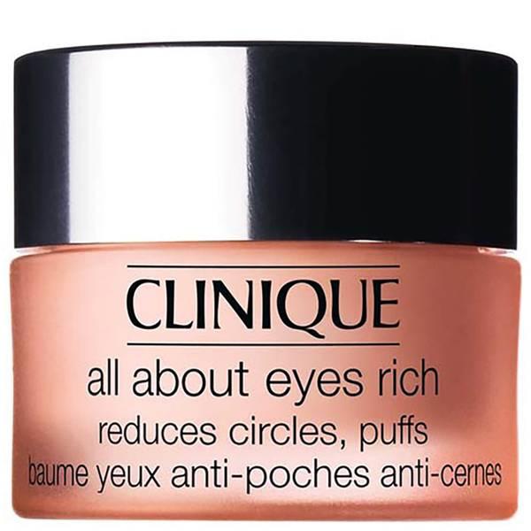 Crema contorno de ojos Clinique 'All About Eyes' Rich (15ml)