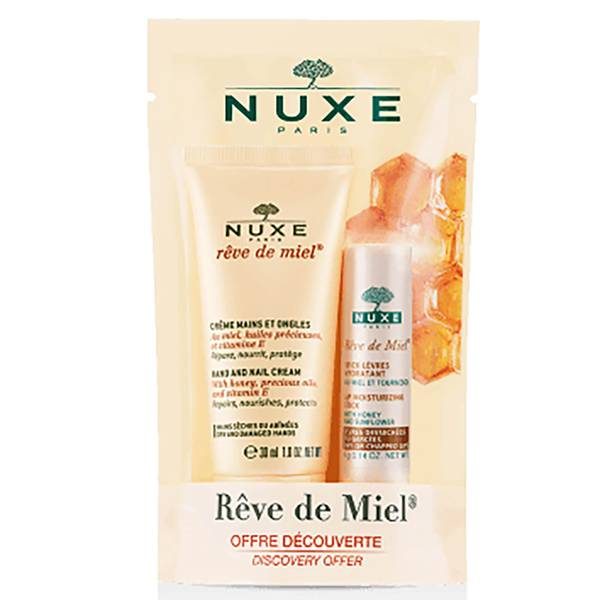 Rêve de Miel Hand Cream 30ml with Rêve de Miel Lip Stick 4g Bundle