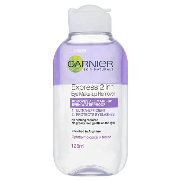 Démaquillant pour yeux 2-en-1 de Garnier Skin Naturals (125ml)