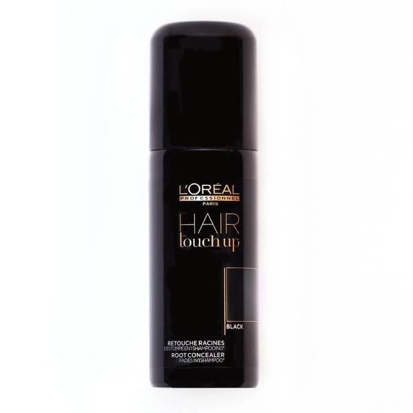 L'Oréal Professionnel Hair Touch Up - Black (75ml)