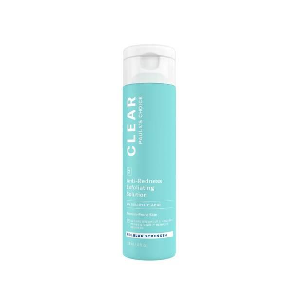 Paula's Choice Clear Regular Strength Anti-Redness Exfoliating Solution with 2% Salicylic Acid (118ml)