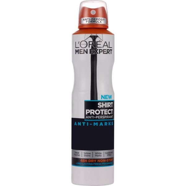 L'Oréal Paris Men Expert Shirt Protect Long Lasting Fragrance Deodorant 250ml