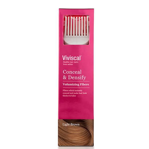 Viviscal Hair Thickening Fibres for Women - leggero Brown