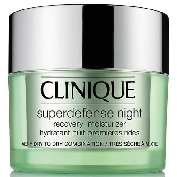 Clinique Superdefense Night Recovery Moisturizer 50ml (Tipos de piel 1/2)