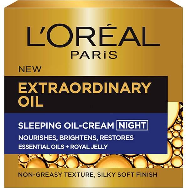 巴黎歐萊雅Extraordinary Oil睡眠修復滋潤精華油晚霜(50ml)