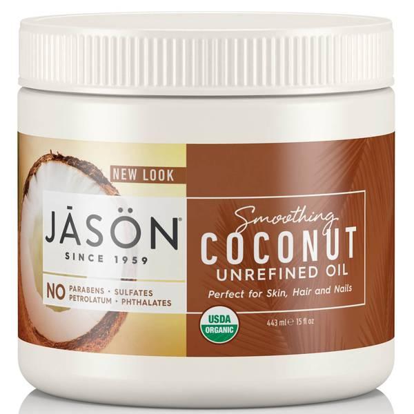 JASON スムージングオーガニック ココナッツオイル(443ミリリットル)