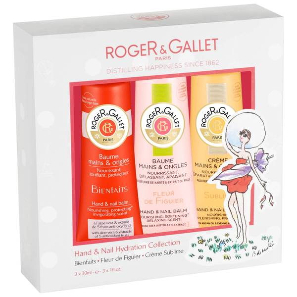 Roger&Gallet Hand & Nail Hydration Collection 3 x 30 ml