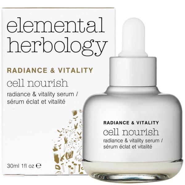 Сыворотка для восстановления кожи лица Elemental Herbology Cell Nourish Radiance and Vitality Facial Serum