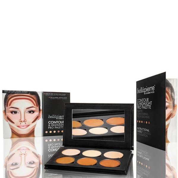 Bellapierre Cosmetics Contour & Highlight Pro Palette