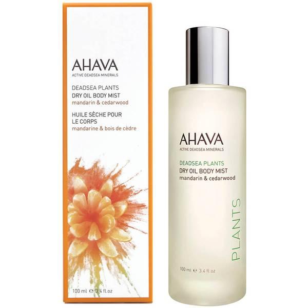 AHAVA olio secco spray per il corpo - mandarino e legno di cedro