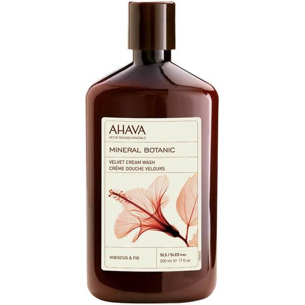 AHAVA Mineral Botanic Velvet Cream Wash - Hibiscus and Fig 500ml