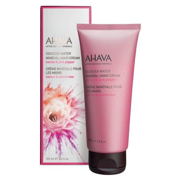 AHAVA Mineral Hand Cream - Cactus and Pink Pepper 100ml