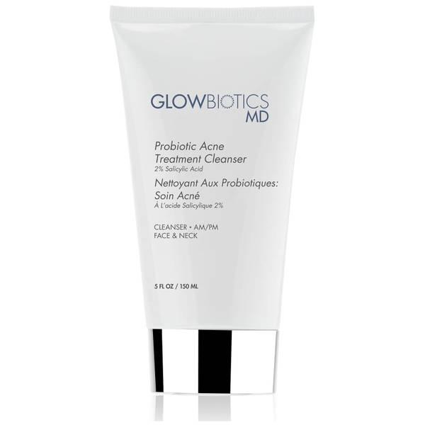 Glowbiotics MD Probiotic Acne Treatment Cleanser (2% Salicylic Acid)