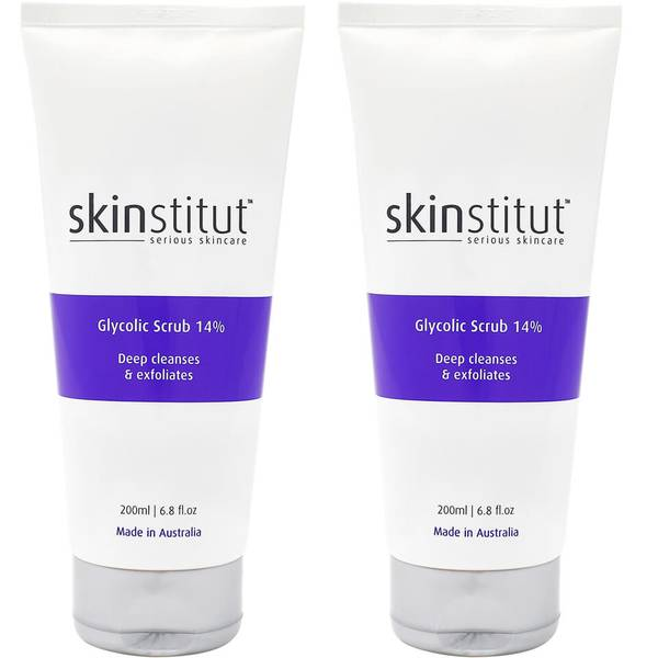 2x Skinstitut Glycolic Scrub 14%