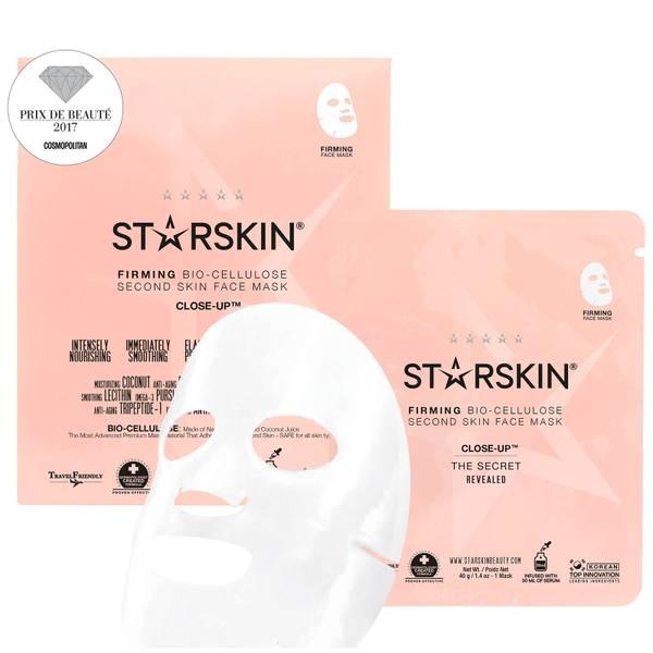 STARSKIN Close-Up™ Coconut Bio-Cellulose Second Skin Firming Face Mask(스타스킨 클로즈업™ 코코넛 바이오 셀룰로스 세컨드 스킨 퍼밍 페이스 마스크)
