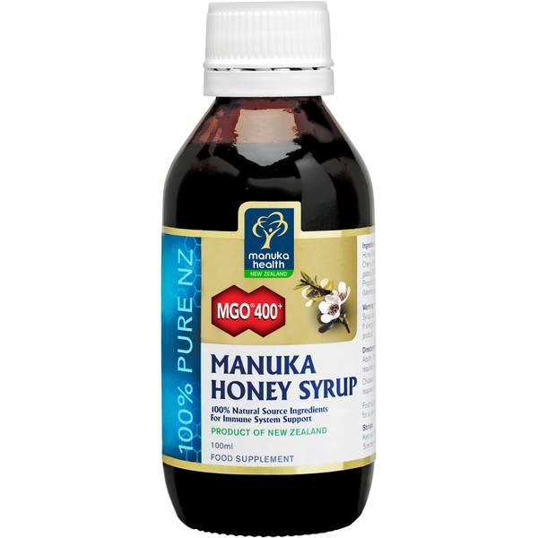 Sirope de miel de Manuka MGO 400+ de Manuka Health 100 ml