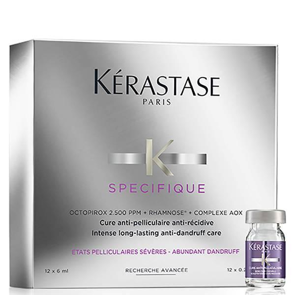 Kérastase Specifique Cure Anti-Pelliculaire Anti-Recidive Treatment -tehohoitoaine hilseilevälle päänahalle 12 x 6ml
