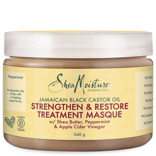 Shea Moisture Jamaican Black Castor Oil Strengthen, Grow & Restore Treatment MasqueВосстанавливающая маска 340g