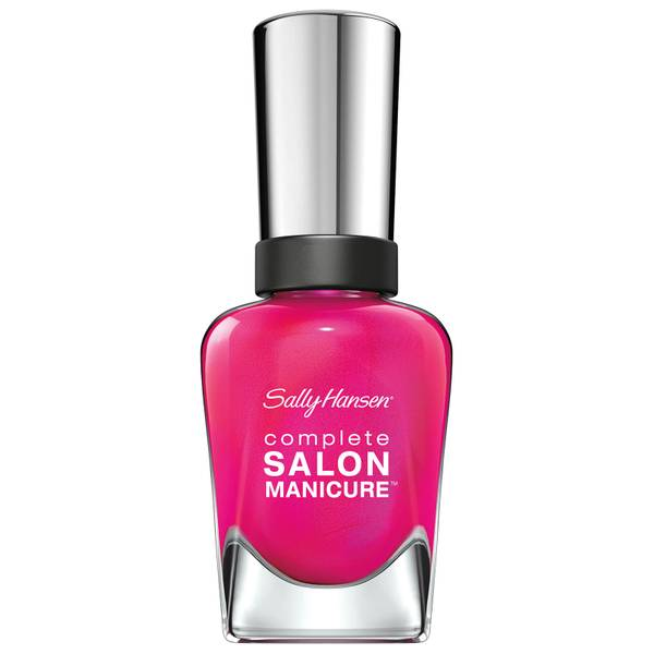 Sally Hansen Complete Salon Manicure 3.0 Keratin Strong Nail Polish - Back To The Fuchsia 14.7ml