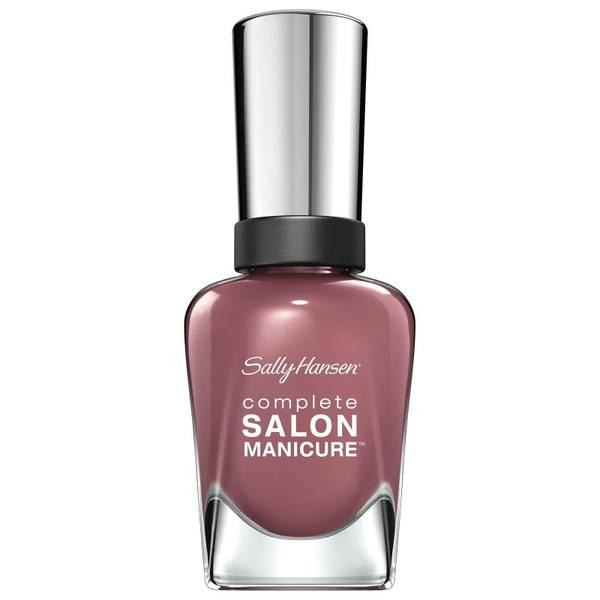 Sally Hansen Complete Salon Manicure 3.0 Keratin Strong Nail Polish - Plums the Word 14.7ml