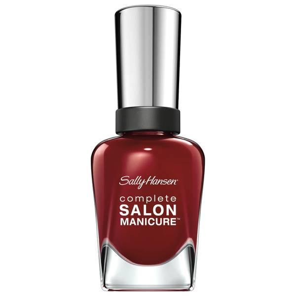 Sally Hansen Complete Salon Manicure 3.0 Keratin Strong Nail Polish - Red Zin 14.7ml