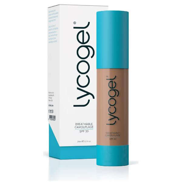 Lycogel Breathable Camouflage - Amber 20ml