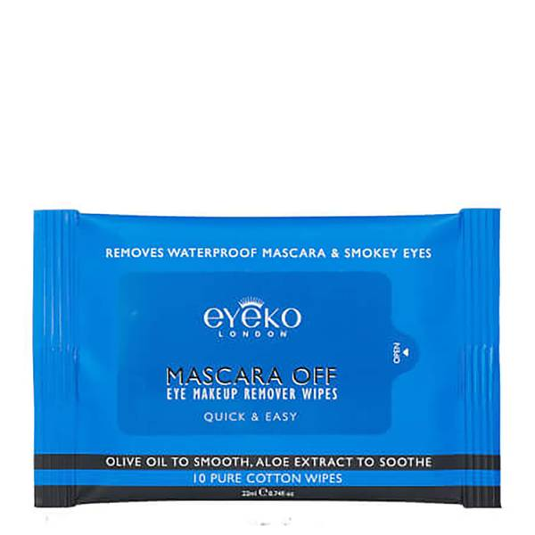 Eyeko Mascara Off Eye Make-Up Remover Wipes