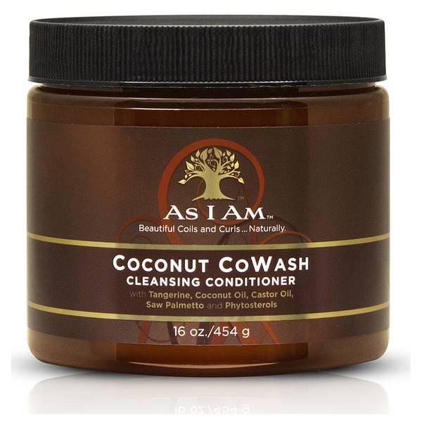 """Après-shampooing nettoyant au coco """"CoWash"""" d'As I Am (454 g)"""