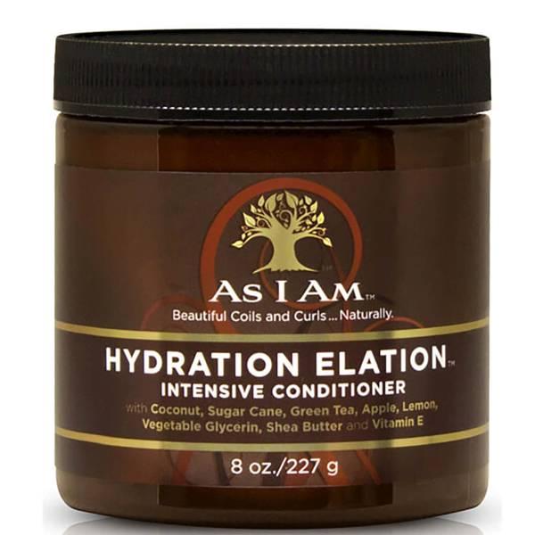 "Après-shampooing hydratant ""Hydration Elation Intensive"" d'As I Am (227 g)"