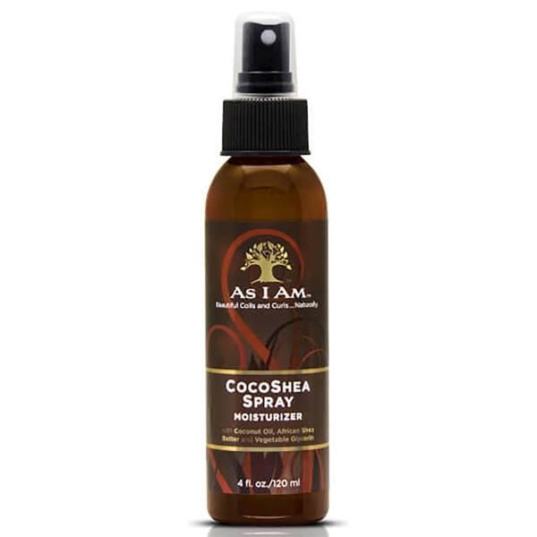 Spray hydratant au coco et au karité d'As I Am (120 ml)