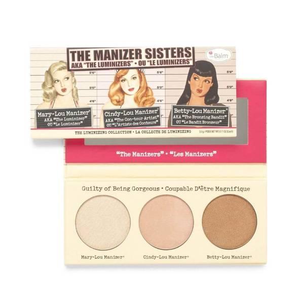 theBalm Manizer Sisters (Manizer Trio) Highlighters