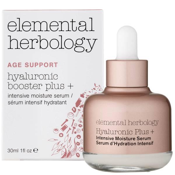Увлажняющая сыворотка с гиалуроновой кислотой Elemental Herbology Hyaluronic Booster Plus+ Intensive Moisture Serum 29,5 мл