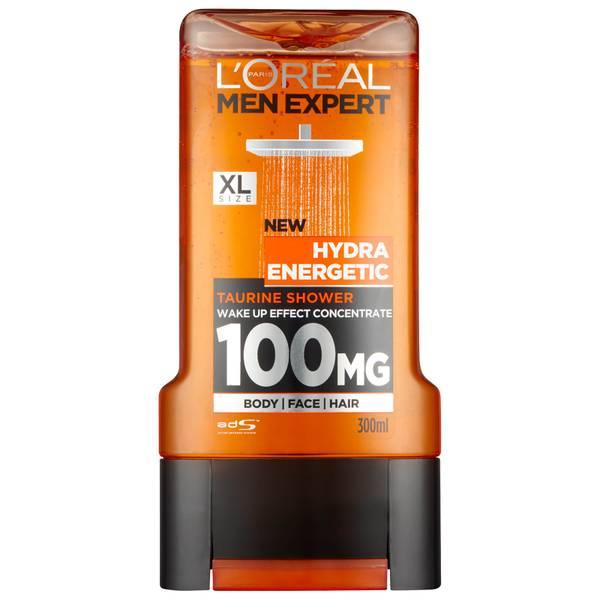 Gel de ducha Hydra Energetic de L'Oréal Paris Men Expert 300 ml