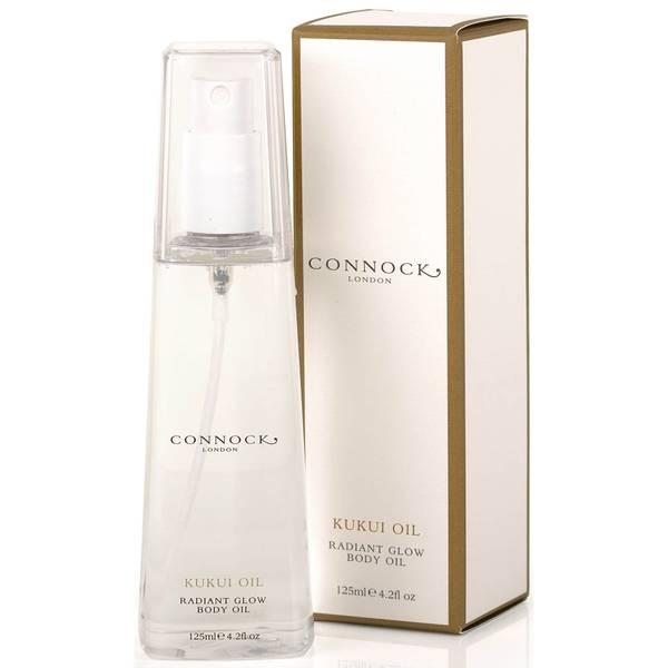Aceite corporal luminoso de kukui de Connock London 125 ml
