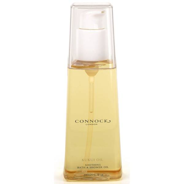 Aceite de baño y ducha de aceite de kukui de Connock London 200 ml