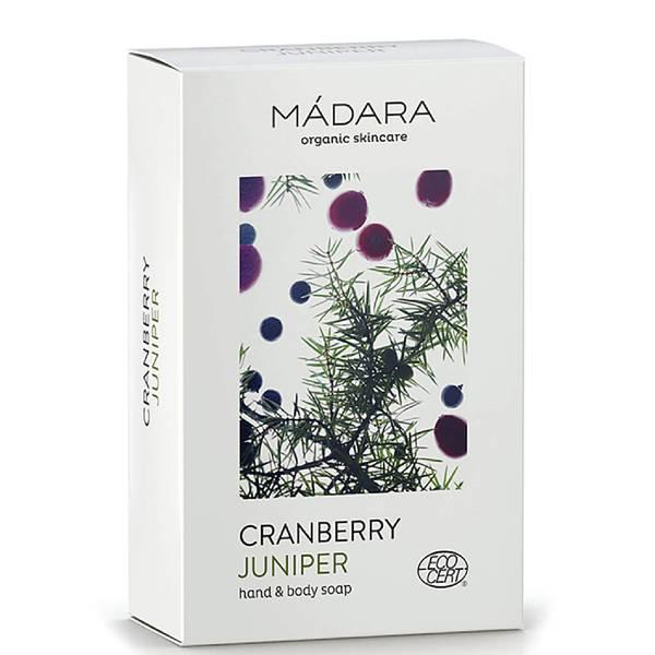 MÁDARA Cranberry & Juniper Hand & Body Soap 150g