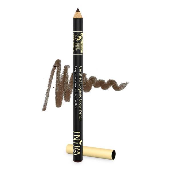 INIKA Certified Organic Brow Pencil - Dark Brunette