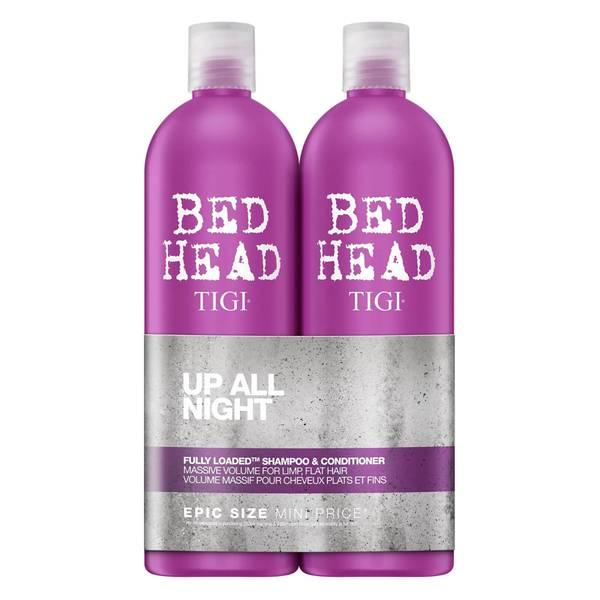 TIGI Bed Head Fully Loaded Massive Volume Tween Duo -shampoo ja hoitoaine, 2 x 750ml