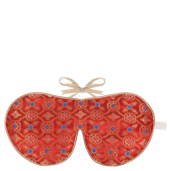 Holistic Silk Eye Mask Slipper Gift Set – Tibetan Orange (ulike størrelser)