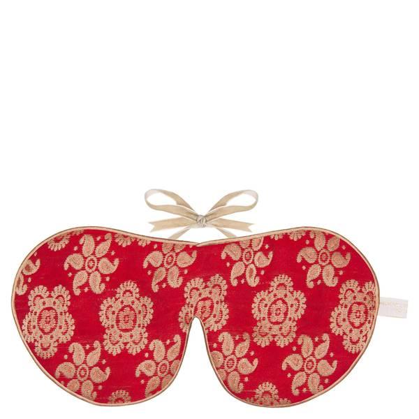 Set Cadeau Masque Pour les Yeux et Chaussons en Soie Holistic Silk – Scarlet (plusieurs tailles disponibles)