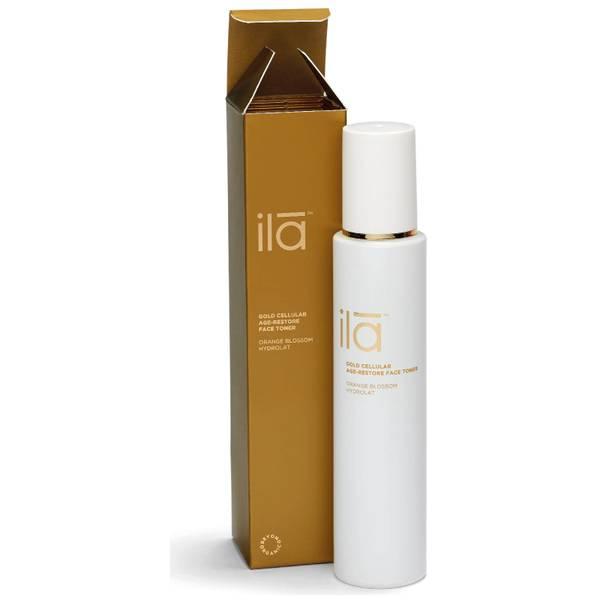Ila-Spa Gold Cellular Age-Restore Face Toner 100ml