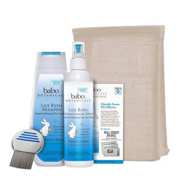 Babo Botanicals Lice Prevention Essentials Set